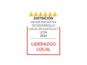 Distinción Liderazgo local
