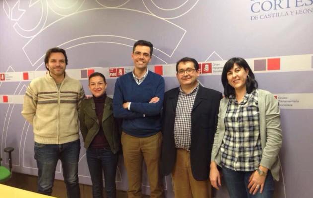 ADELCYL en las Cortes de Castilla y León defendiendo el desarrollo local