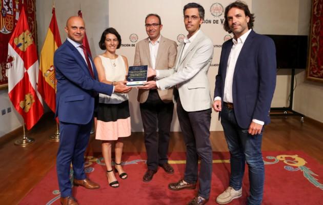 La Diputación de Valladolid acoge la entrega de la distinción a la mejor iniciativa de desarrollo económico local de Castilla y León 2017